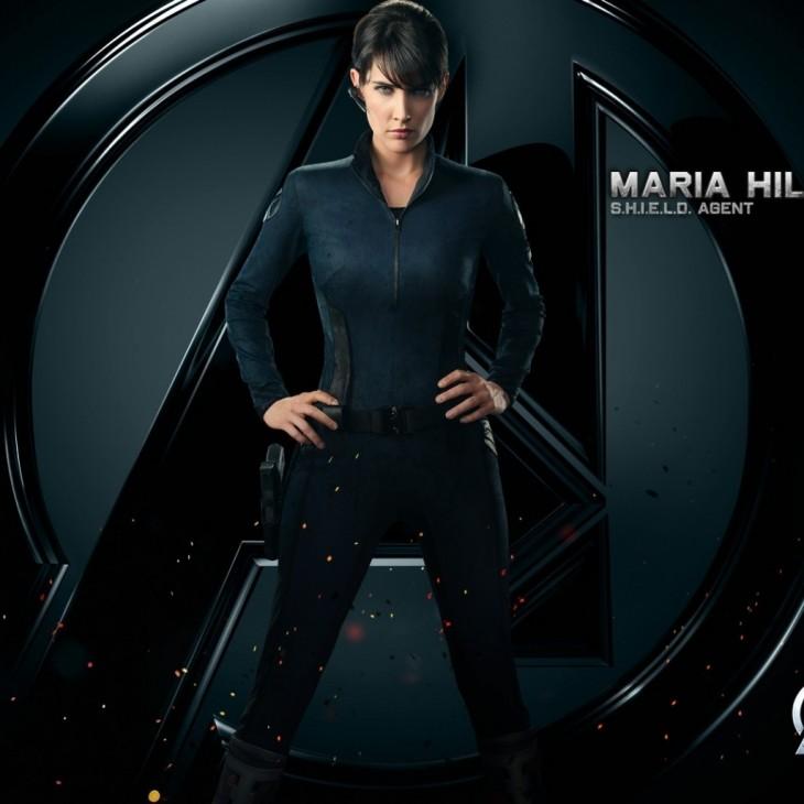 Cobie Smulders es Maria Hill