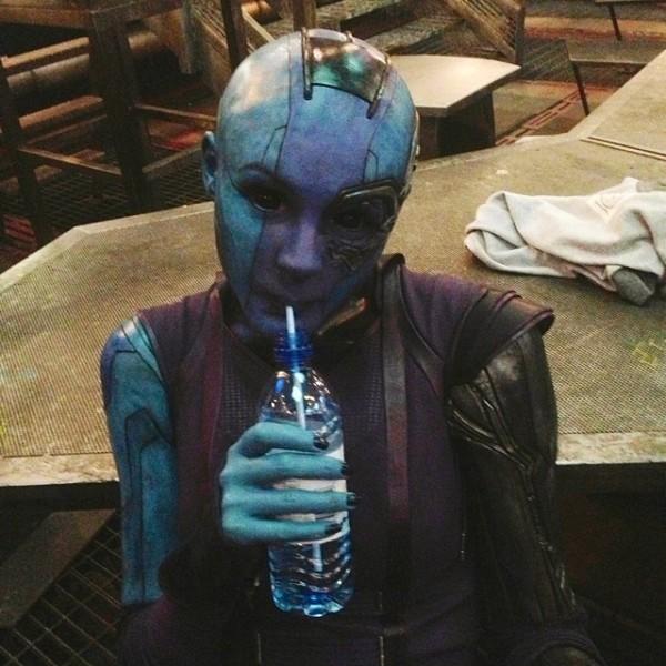 Karen Gillian es 'Nebula'