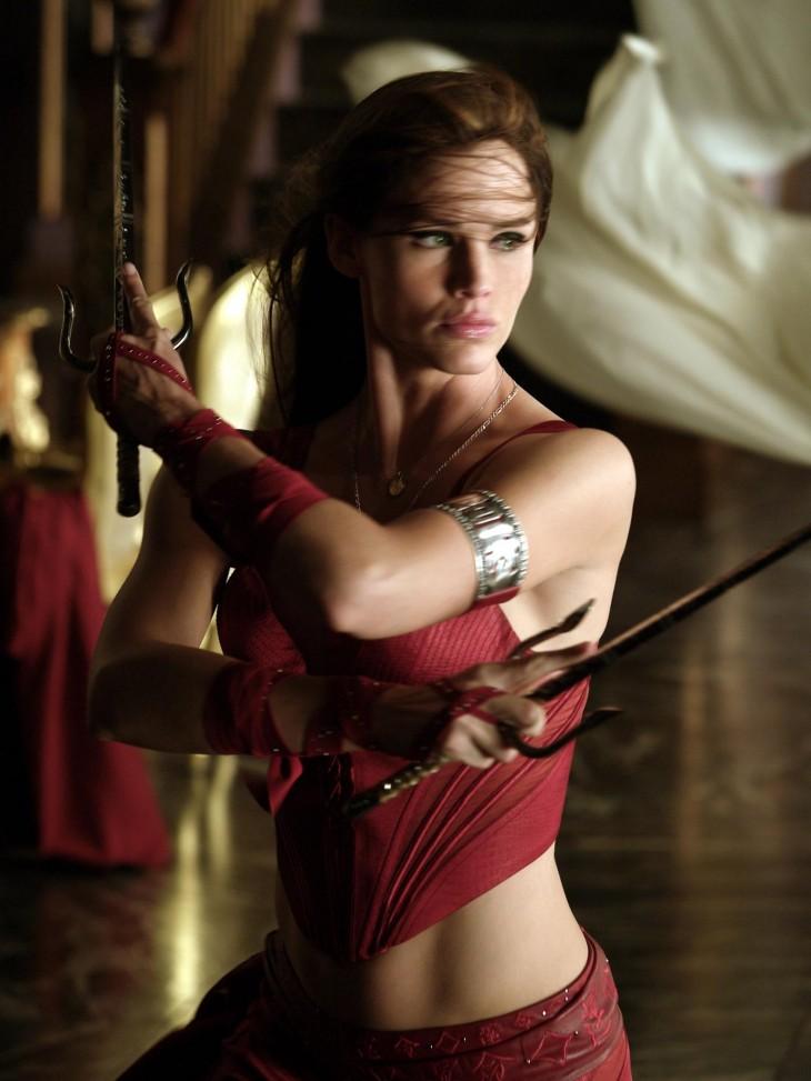 Jennifer Garner fue Elektra