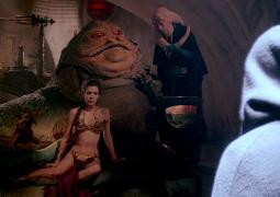 Leia Esclava en el Palacio de Jabba el Hutt