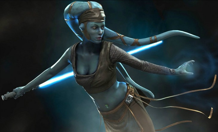 Star Wars: Espectacular cosplay de Aalya Secura