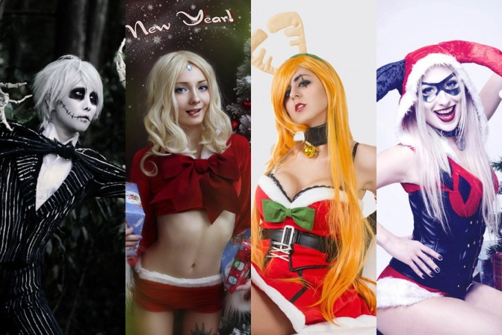 ESPECTACULARES cosplay navideños