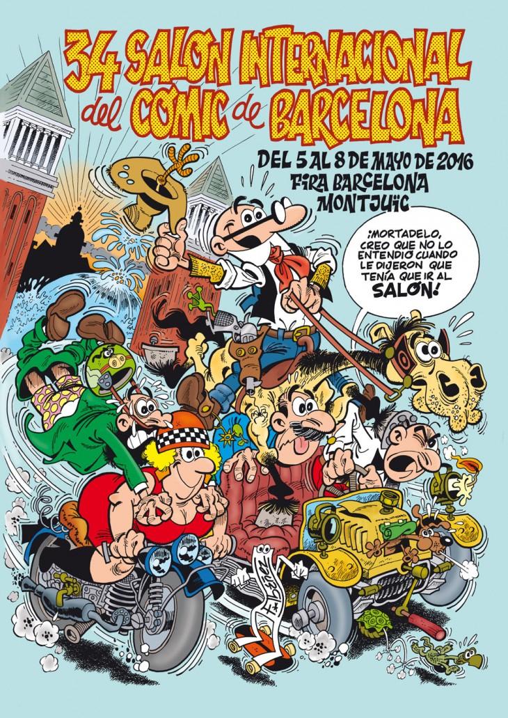 La próxima semana arranca la 34 edición del Salón del Cómic de Barcelona