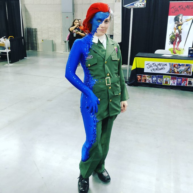 Rebbeca Lindsay - cosplay - Mistica (1)