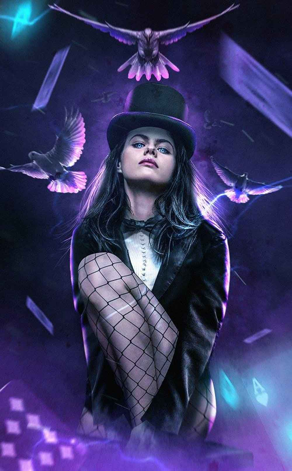 ¿Y si la increíble Alexandra Daddario hiciera un cosplay de Zatanna?