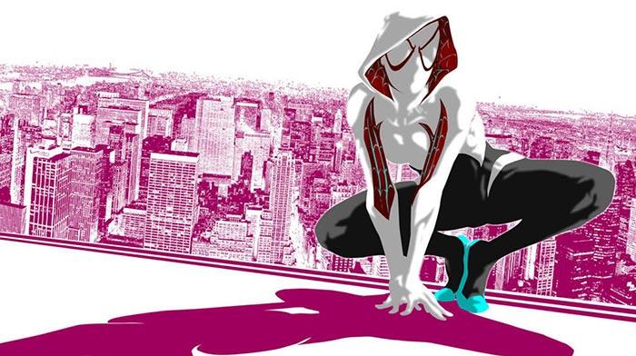 Marvel enseña cómo trae a la vida a Spider-Gwen
