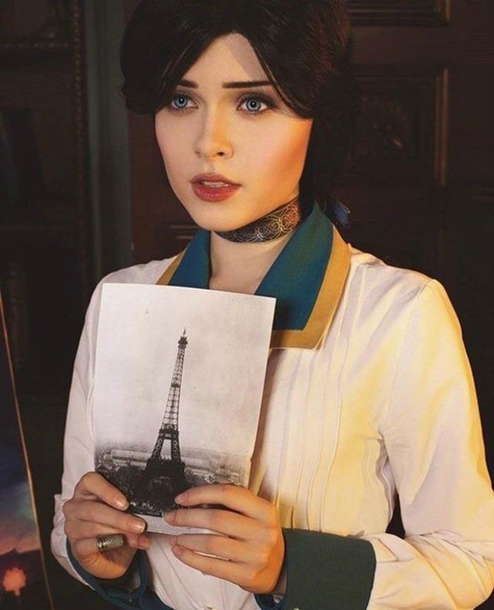 'BioShock Infinite': El espeluznante cosplay de Elizabeth