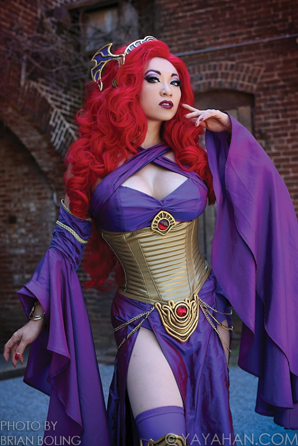 cosplay medusa marvel (2)