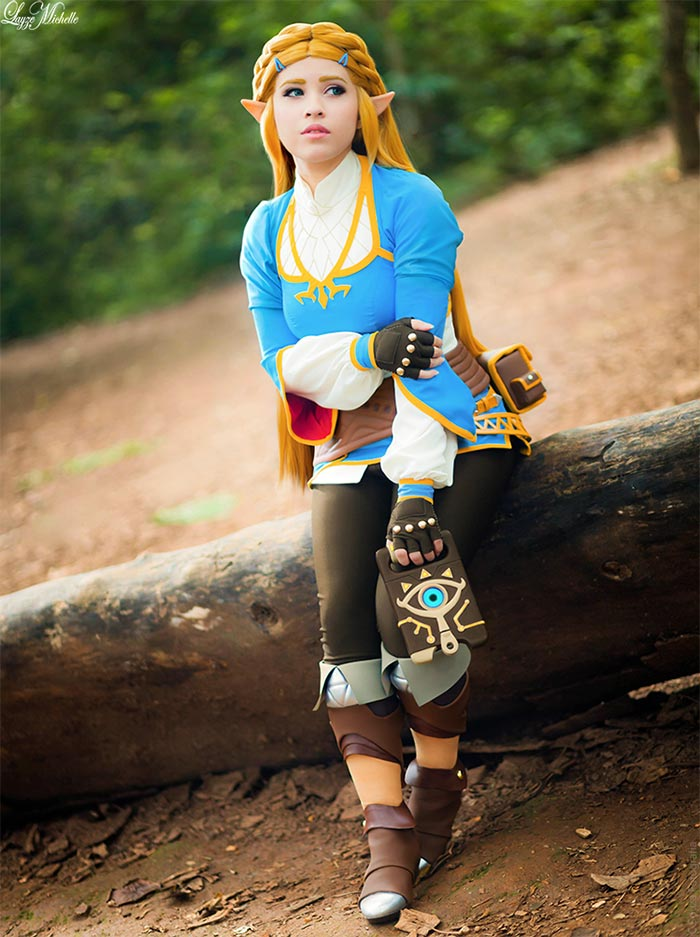'Breath of the Wild': Divertido cosplay de la Princesa Zelda