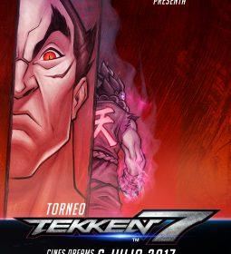 Cartel Torneo Tekken 7 Cines Dreams