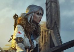 cosplay de Ciri de The Witcher 3