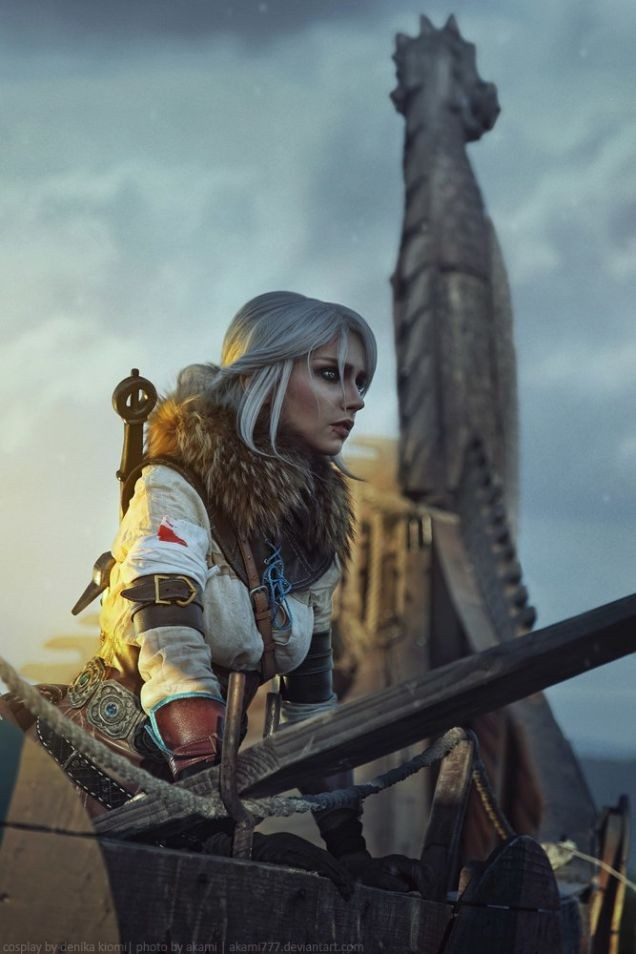 Espectacular cosplay de Ciri de 'The Witcher 3: Wild Hunt'