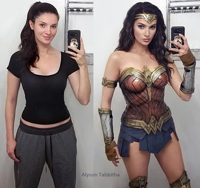 Cosplay de Wonder Woman por Alyson Tabbitha