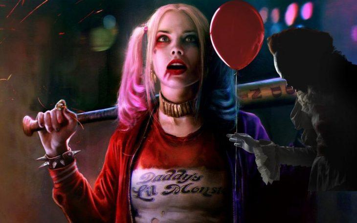 Esto es lo que pasa cuando juntas a 'IT' (2017) con Harley Quinn