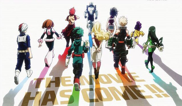 'My Hero Academia: Two Heroes' se estrenará en la Comic-Con 2018
