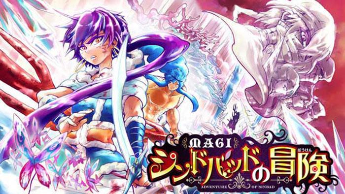 El spin-off de 'Magi: Adventure of Sinbad' comenzará el próximo 28 de febrero