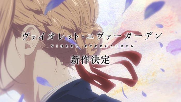 ¿Confirmada la temporada 2 de 'Violet Evergarden'?