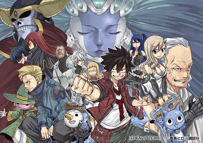 El creador de 'Fairy Tail' presenta su nueva obra: 'Eden Zero'