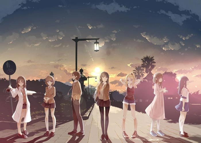 El anime de Seishun Buta Yaro