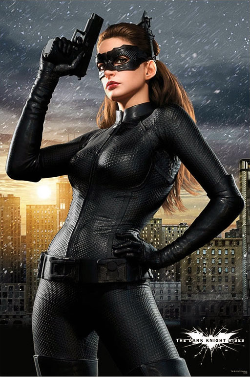 Anne Hathaway fue Catwoman
