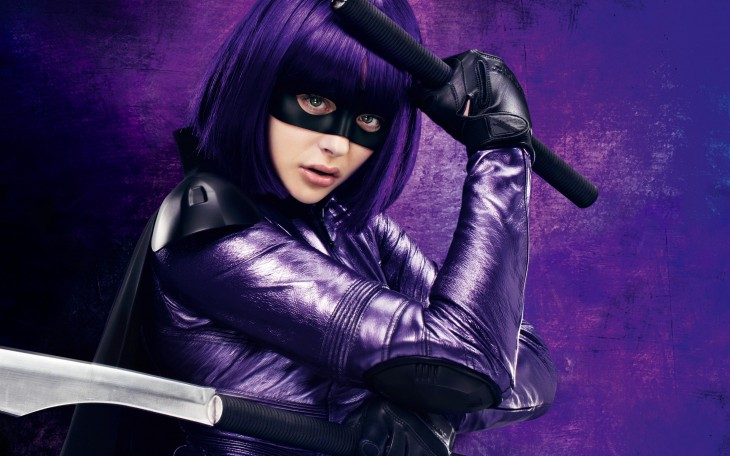 Chlöe Grace Moretz es Hit-Girl