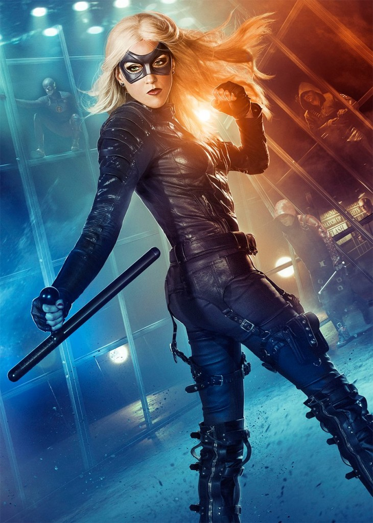 Katie Cassidy es Black Canary