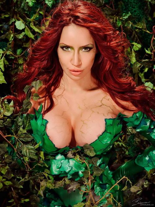 Los mejores cosplay de Poison Ivy (Hiedra Venenosa)