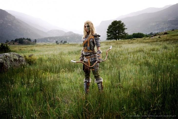 Un cosplay digno de Skyrim