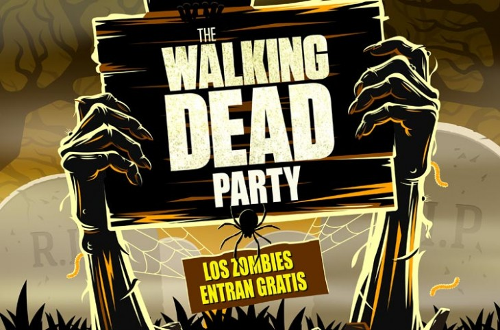 Concurso de cosplays de 'The Walking Dead' en el Lotita Lounge Bar de Madrid
