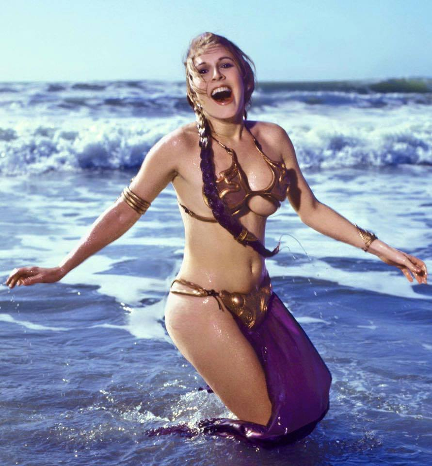 Carrie-Fisher-Golden-Bikini-in-Rolling-Stone-Magazine-1983-03
