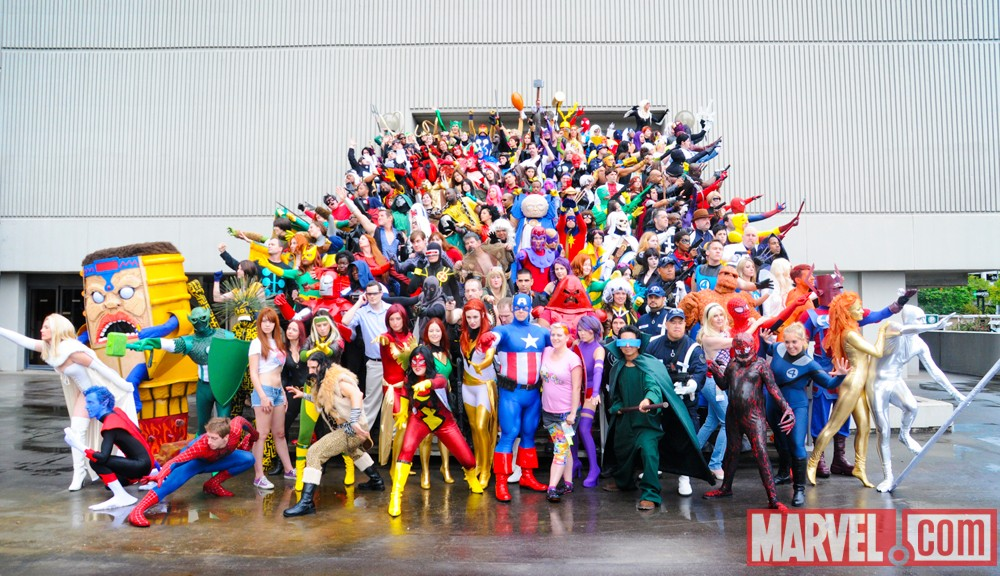 Cosplays Marvel