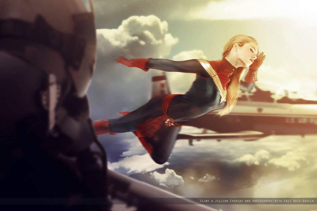 Florencia Sofen Capitan Marvel