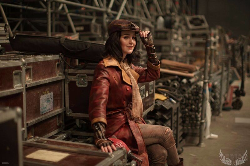 cosplay Piper de Fallout 4 (2)