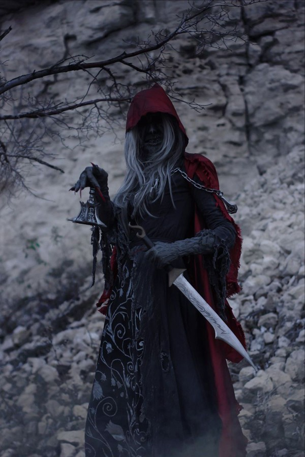 cosplay de Bloodborne (PS4) 4
