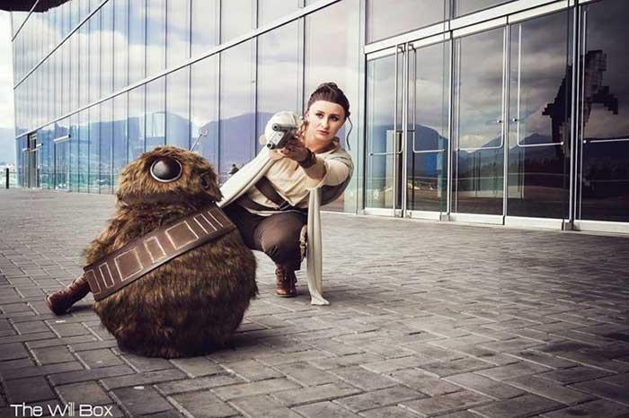 cosplay de Star Wars