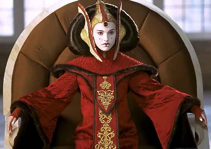 El impresionante cosplay de Star Wars de la reina Amidala