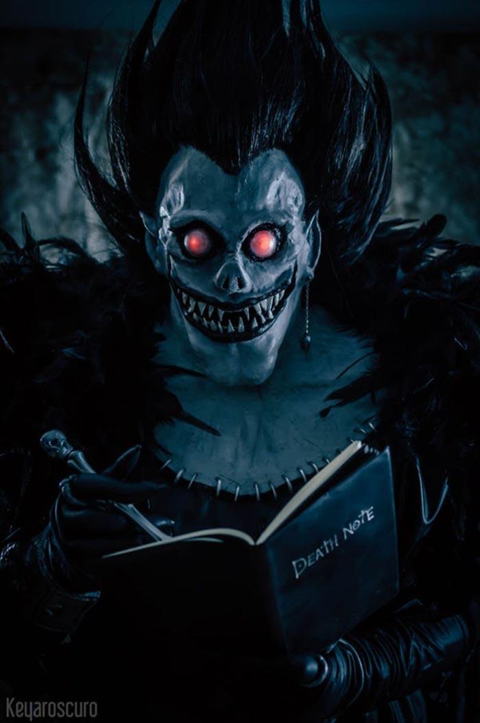 'Death Note': Cosplay de Ryuk antes del estreno en Netflix