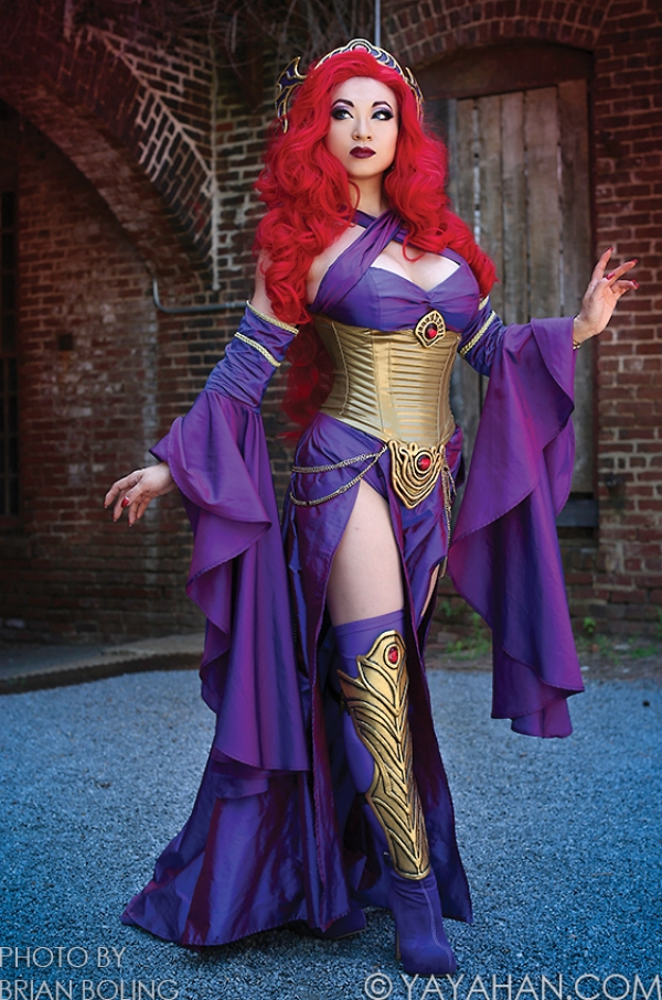 cosplay medusa marvel (1)
