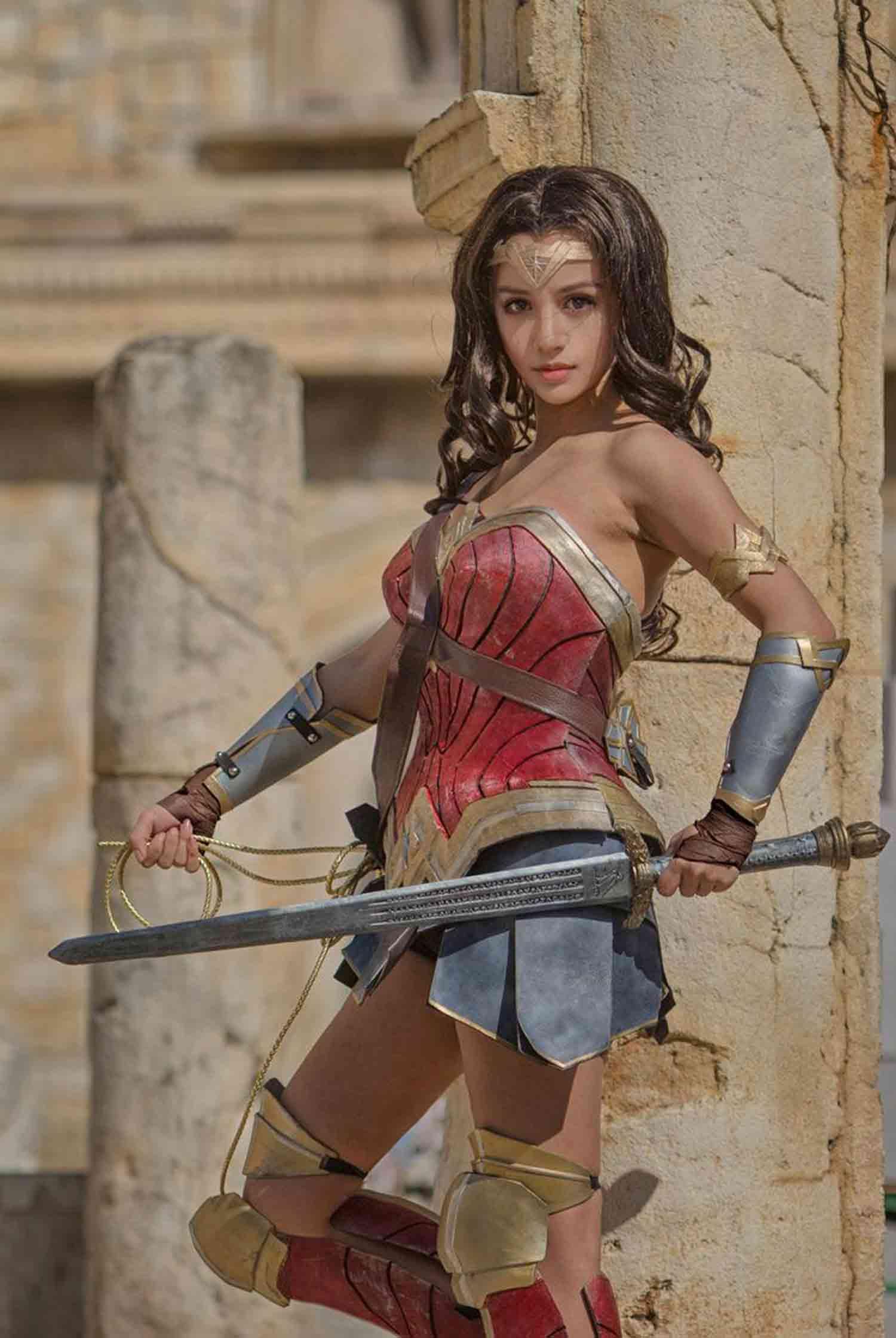 Cosplay de Wonder Woman (Gal Gadot)