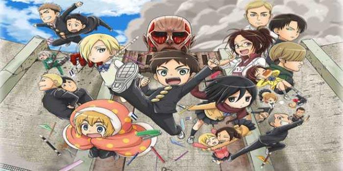 Habrá tres episodios más de 'Attack on Titan: Junior High'