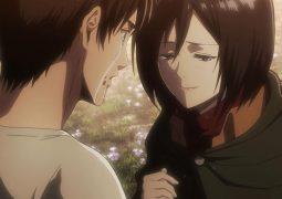 Mikasa y Eren (Ataque a los Titanes)