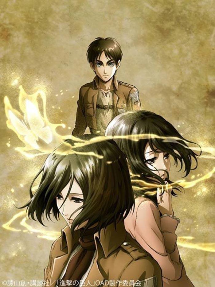 Póster del OVA de Ataque a los Titanes
