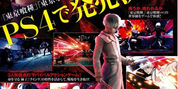 El nuevo videojuego de 'Tokyo Ghoul' para PS4 tiene muy buena pinta
